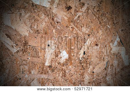 Pressed Wooden Panel Texture