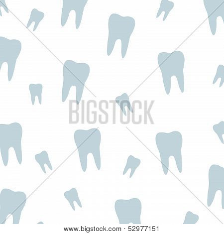 Tooth background for dental surgeon