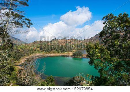 Volcanic Colorful Lake
