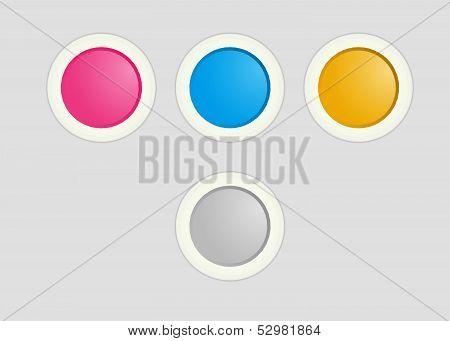 Radio button set