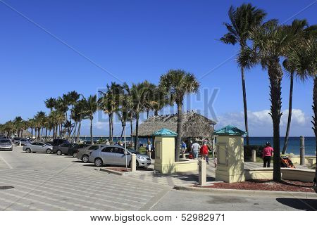 Deerfield Beach In The Winter
