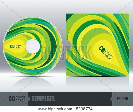 Cd Cover Design Template Set 4