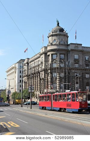 Public Transportation In Belgrade