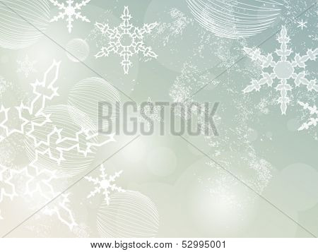 Winter background - Christmas sparkle pattern