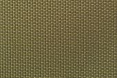 stock photo of khakis  - Weaved textile background in khaki base macro - JPG