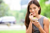 stock photo of finger-licking  - Cupcakes  - JPG