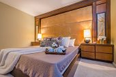 foto of motel  - Beautiful and modern home and hotel bedroom interior design - JPG