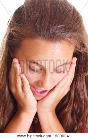 Surprised Teen Girl