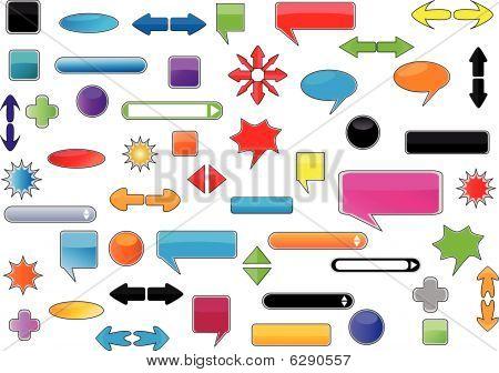 Conjunto de elementos Web Super