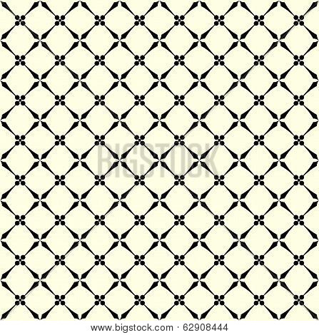 Simple Geometric Vector Pattern - Lines On  Background