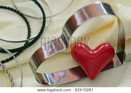 Lovely Hearts And Various Bracelets