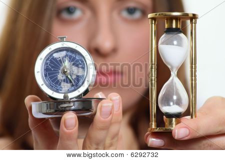 The Nice Girl With Sand And A Quartz Watch