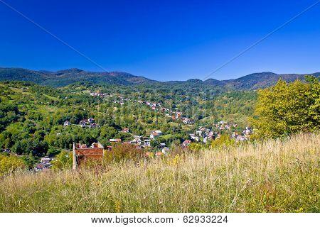 Zagreb Hillside Green Zone Nature