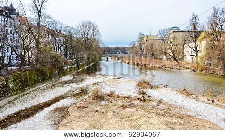The Isar River, Munich