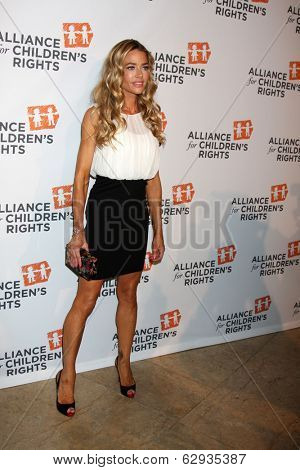 LOS ANGELES - APR 7:  Denise Richards at the Alliance for Children's Rights' 22st Annual Dinner at Beverly Hilton Hotel on April 7, 2014 in Beverly Hills, CA