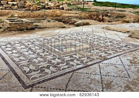 The Archaeological Helenistic andRoman site at Kato Paphos in Cyprus.