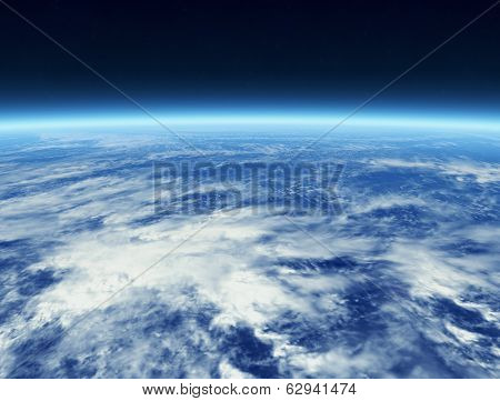 Cloud from Space