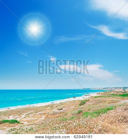 Bright Sun And Sea