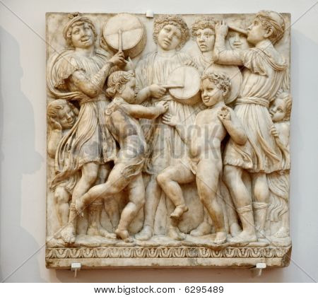 Marble Bas-relief
