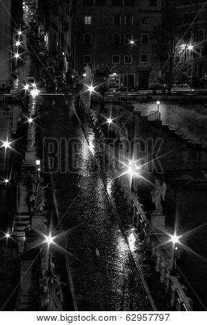 Cityscape In Rome