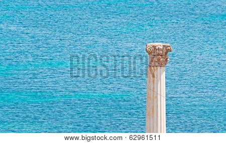 Column And Sea