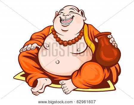 Smiling Monk