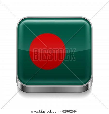 Metal  icon of Bangladesh