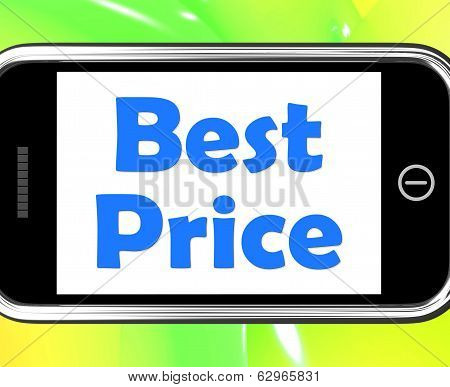 Best Price On Phone Shows Promotion Offer Or Discount