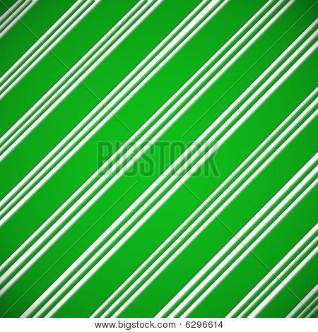 Candy Cane Green Paper