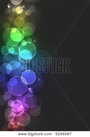 Colorful Bokeh Burst