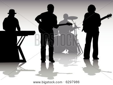 Music on stage