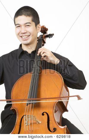 Asian Cellist 2