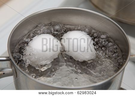 Boiling Two Eggs