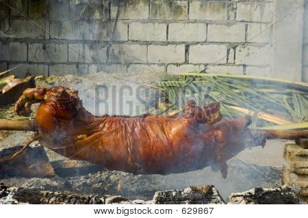 Lechon Or Roast Pig