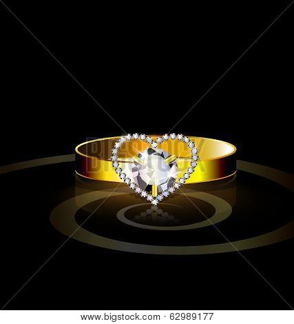 heart- Ring