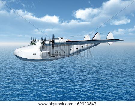 Flying Boat Airliner