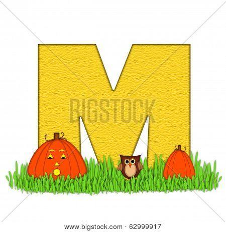 Alphabet Pumpkin Patch M
