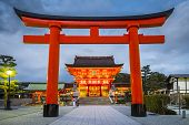 foto of buddhist  - Fushimi Inari Taisha Shrine in Kyoto - JPG