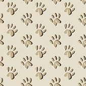 stock photo of 8-track  - animal prints seamless pattern  - JPG