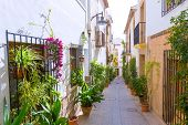 picture of costa blanca  - Javea Xabia old town Mediterranean streets in Alicante Spain - JPG