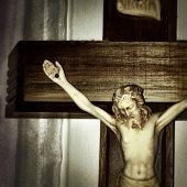 image of inri  - Instagram style of Jesus on the cross - JPG