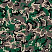 Seamless camouflage pattern. For eps file look id: 31563187