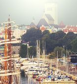 Sea port in Tallinn