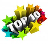 image of tens  - Top 10 Stars Ten Best Score Rating Review - JPG