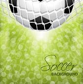 Abstract Soccer/football Background Design