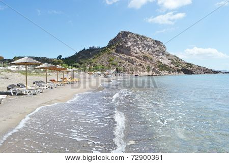 Shore Of The Aegean Sea