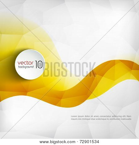 Abstract Colorful Line Vector Background