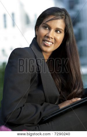 Beautiful Young Indian Asian Businesswoman