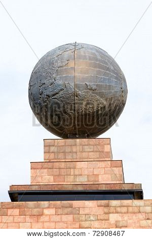 Center of the world,  Mitad del Mundo, Equator, south america