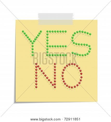 Post Yes And No